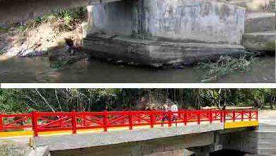 Después de dos años, Granja de Armero tiene puente de acceso 9