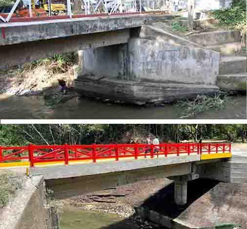 Después de dos años, Granja de Armero tiene puente de acceso 1