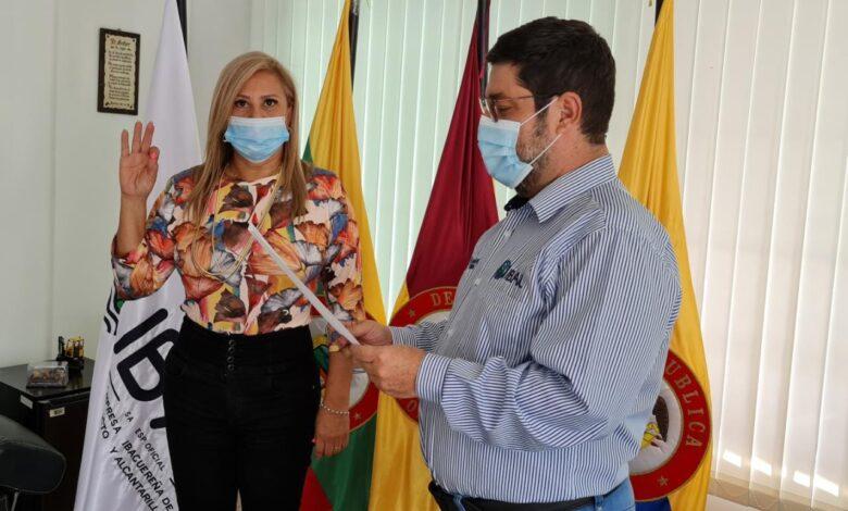 Olga Lucía Liévano Rodríguez, se posesionó como nueva secretaria General del IBAL 1
