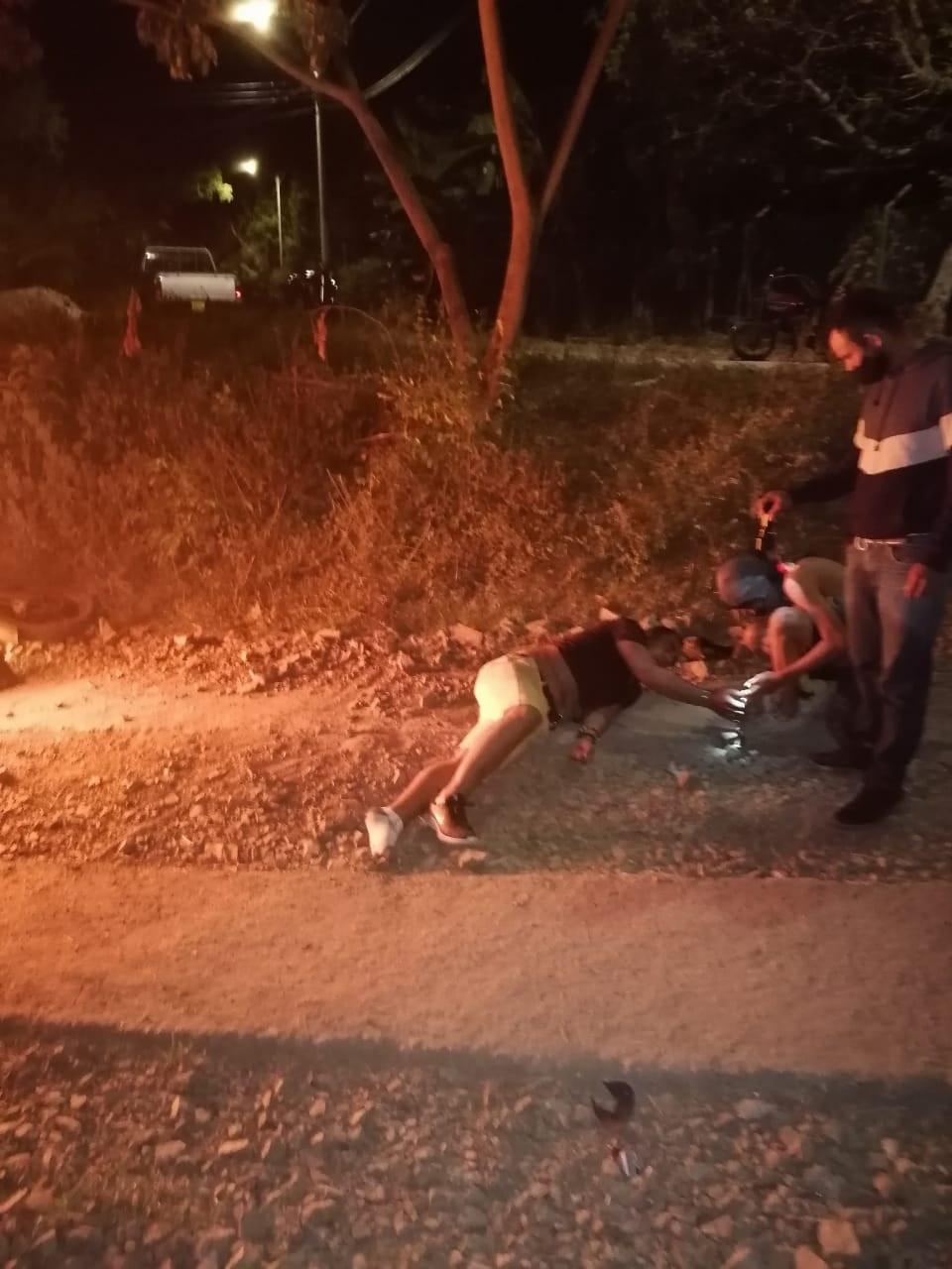 A golpes defendieron sus pertenencias algunos habitantes de Chucuní 3
