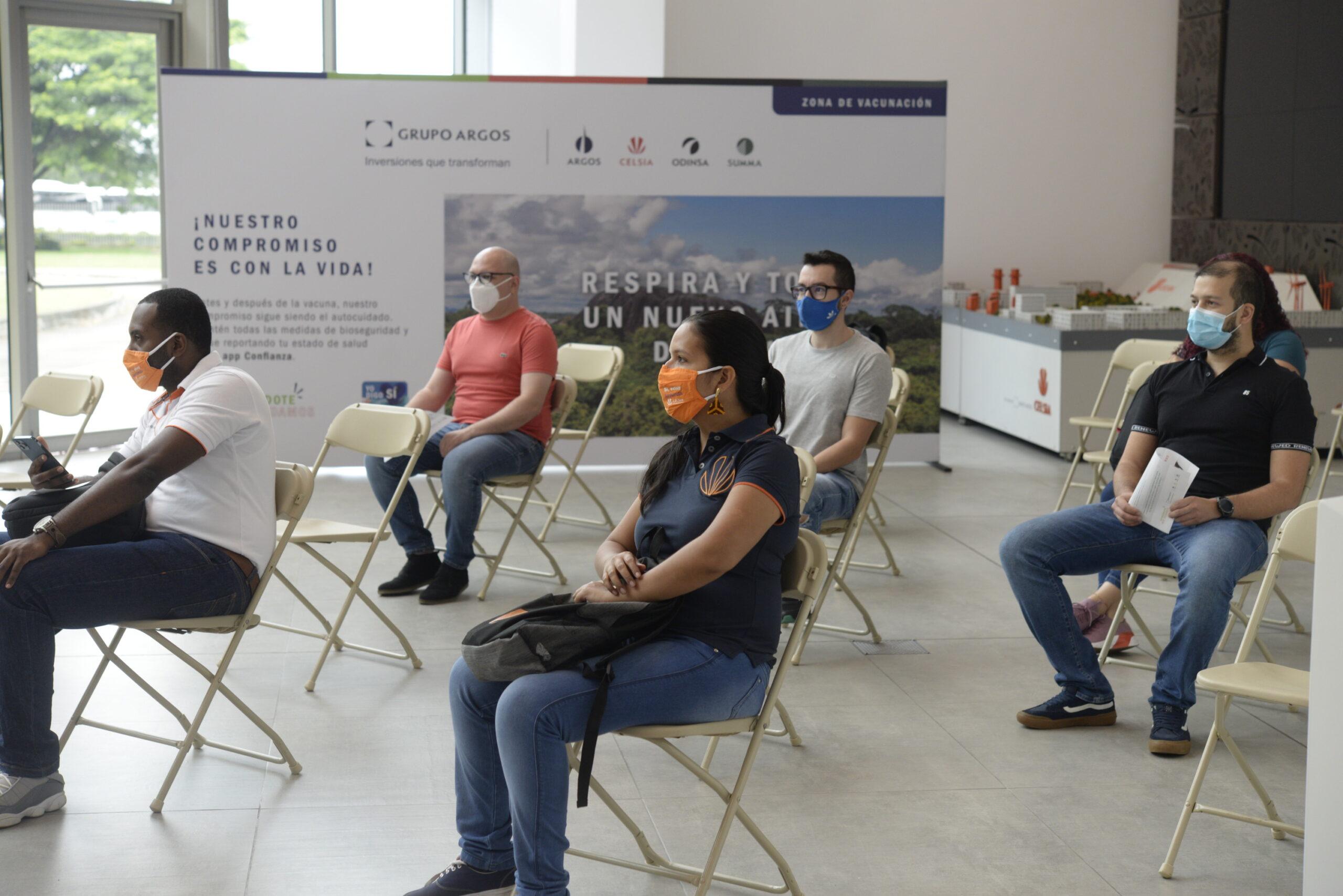 Celsia inicia la vacunación de sus colaboradores en el Tolima 4