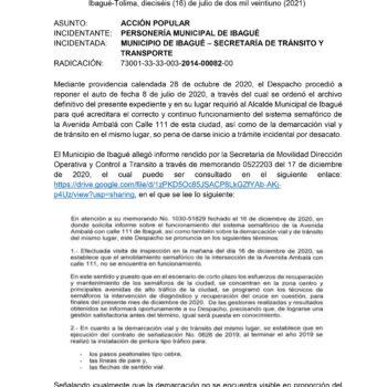 Semáforo de Pacandé genera incidente de desacato en contra del alcalde Andrés Hurtado 2