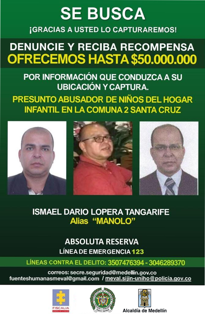 Él es alias 'Manolo', señalado de abusar a 15 niños en jardín infantil de Medellín 4