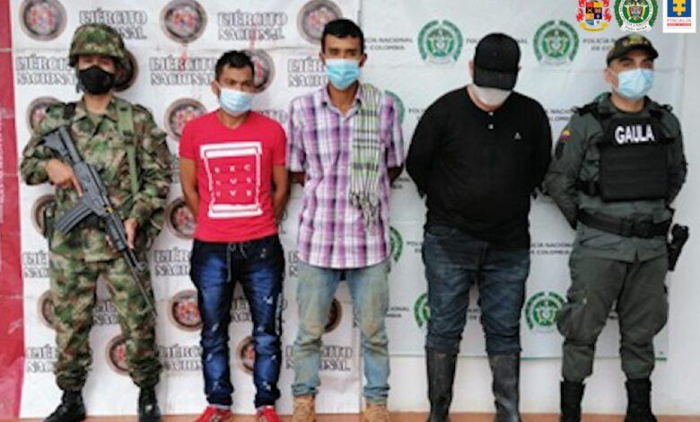 """Autoridades cogieron a """"Los Burros"""" por extorsión 1"""