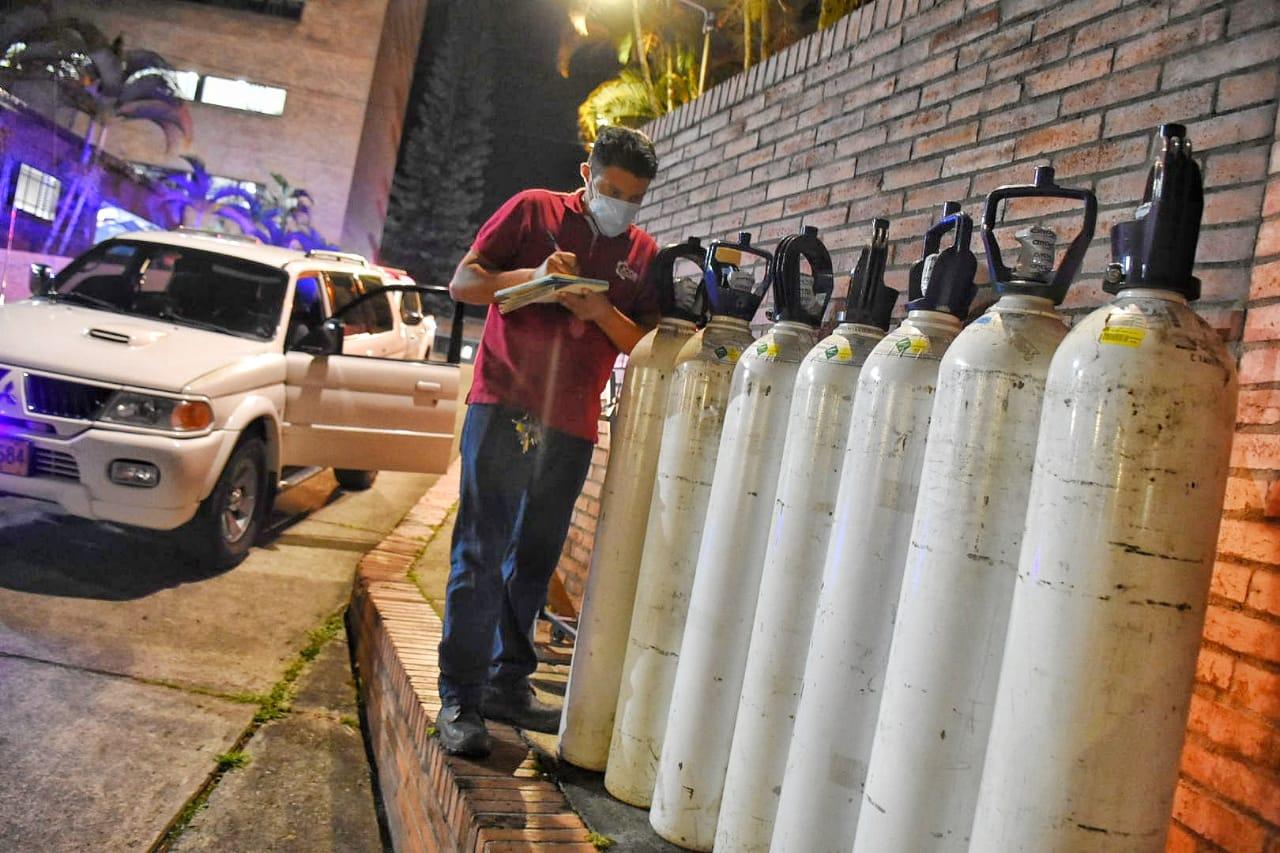 Red Hospitalaria se unió para dar oxígeno al Federico Lleras Acosta 3
