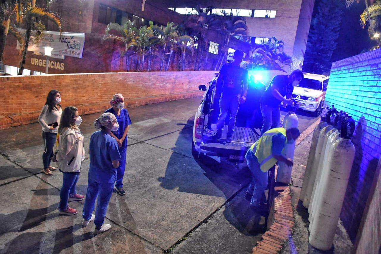 Red Hospitalaria se unió para dar oxígeno al Federico Lleras Acosta 2