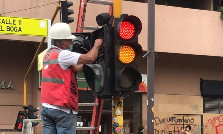 58 intersecciones semafóricas en Ibagué han sido intervenidas 1