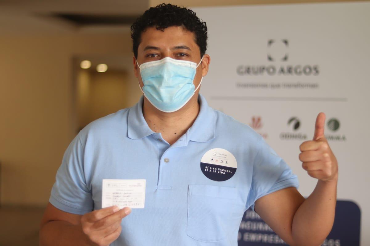 Colaboradores de Celsia dijeron sí a la vacunación 3