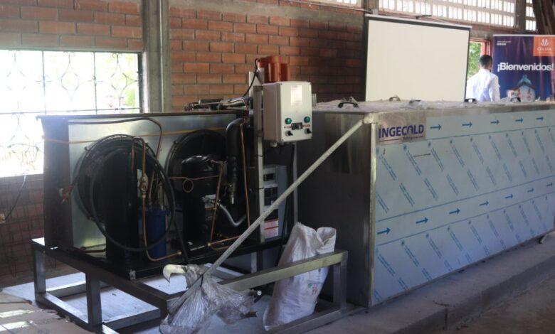 Celsia mejora las instalaciones eléctricas de la Casa del pescador, en Honda 1