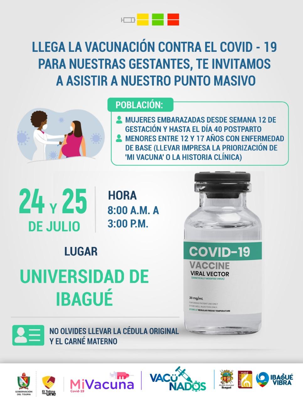 Mamitas a vacunarse 4