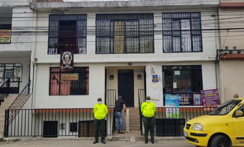Autoridades realizaron extinción de dominio a vivienda del barrio Restrepo 1