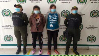 Estas dos mujeres fueron las secuestradoras de bebé de 6 meses recuperada en el Espinal 9