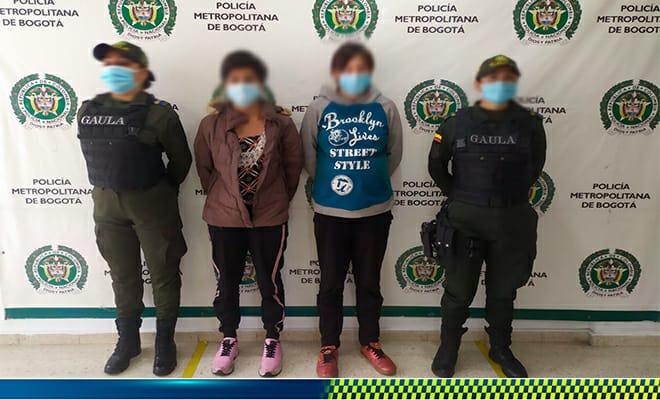 Estas dos mujeres fueron las secuestradoras de bebé de 6 meses recuperada en el Espinal 3