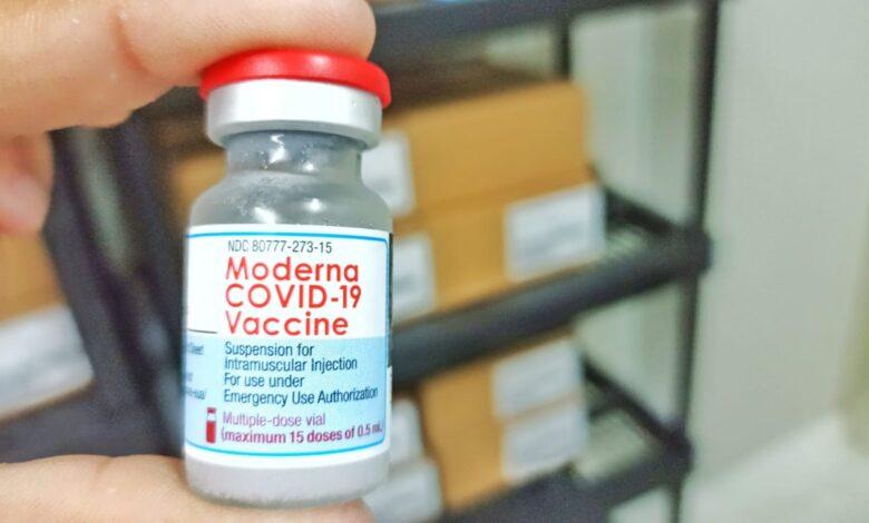 Vacunas Moderna contra el Covid19 llegarán a 42 municipios del departamento 1