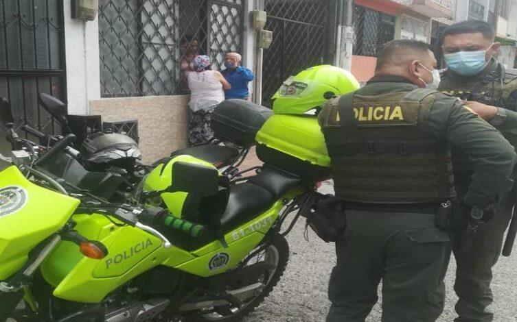 Fleteo en la Ciudadela Simón Bolívar 1