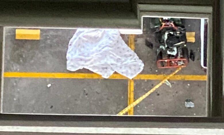 Hombre se lanza desde piso 14 en la calle 60 con Guabinal 3