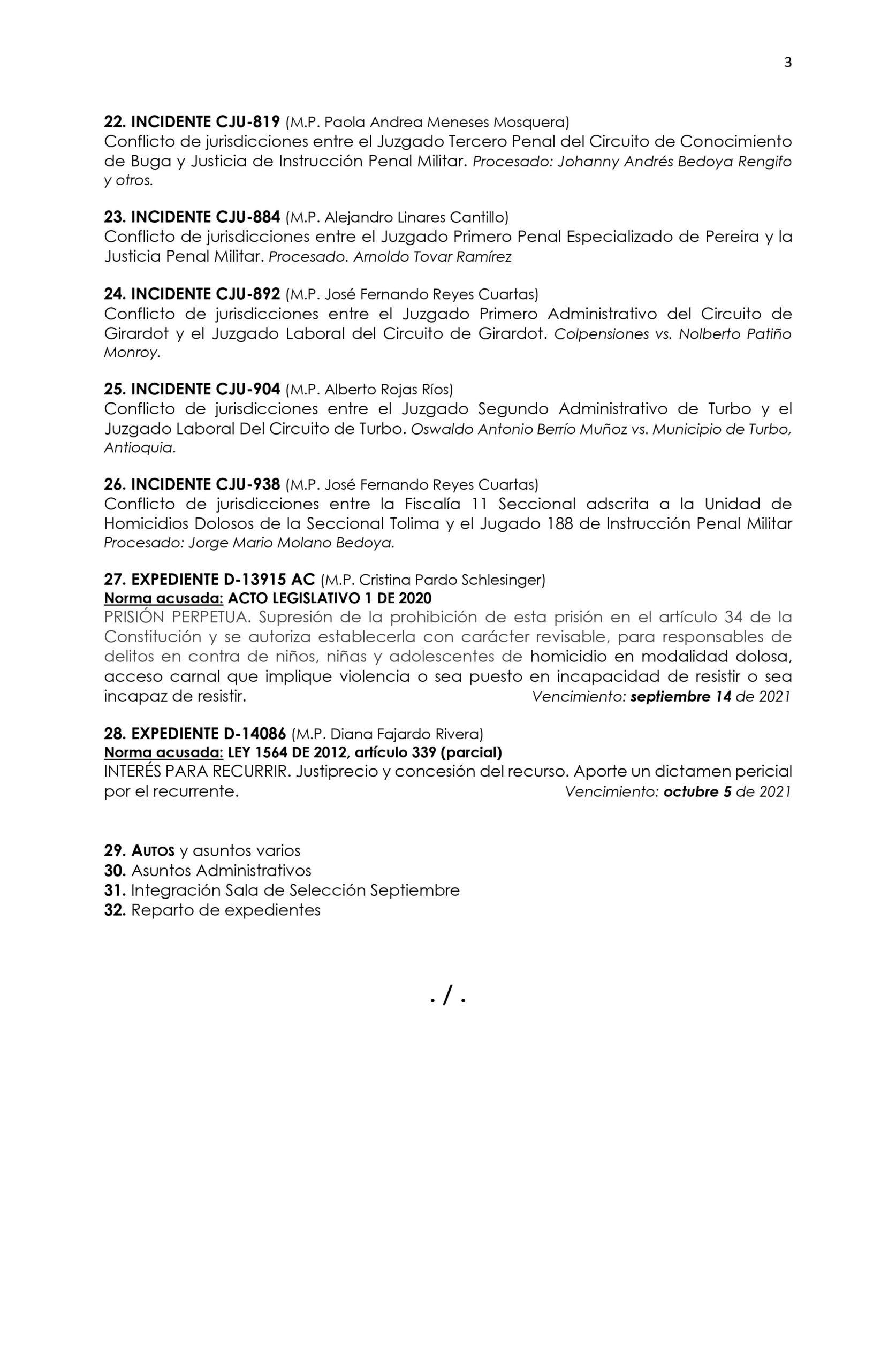 Corte Constitucional definirá el caso del Mayor Molano 4