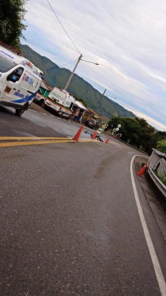 Policía Chaparraluno falleció en accidente vía Guaduas-Villeta 2