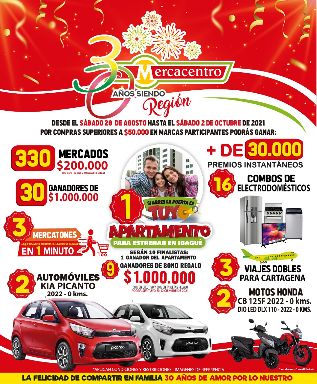 Supermercados Mercacentro cumple 30 años 4