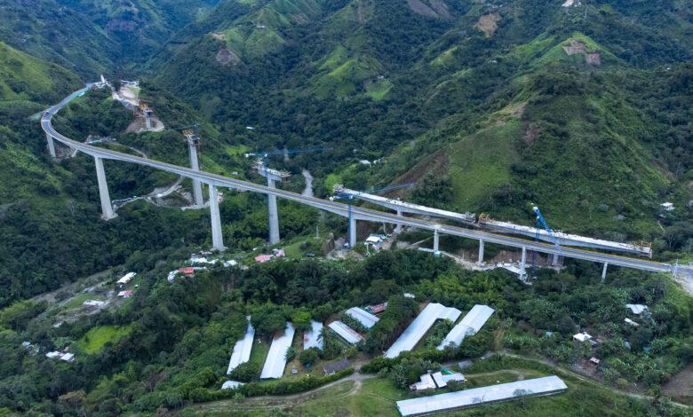 21 Viaductos en 15 kilómetros tiene el primer tramo de la nueva vía Ibagué- Cajamarca 7
