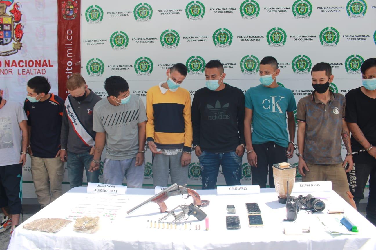 11 personas capturadas por microtráfico en Ibagué 4