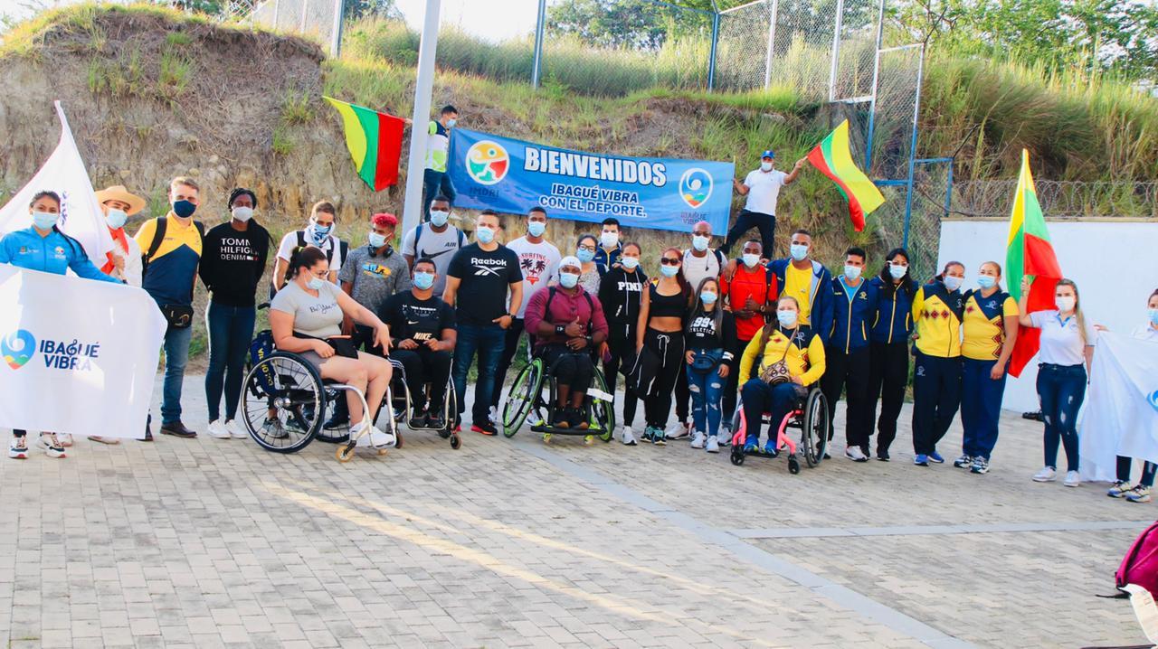 Selección Colombia de Para Atletismo se preparará en Ibagué antes de viajar a Tokio 3