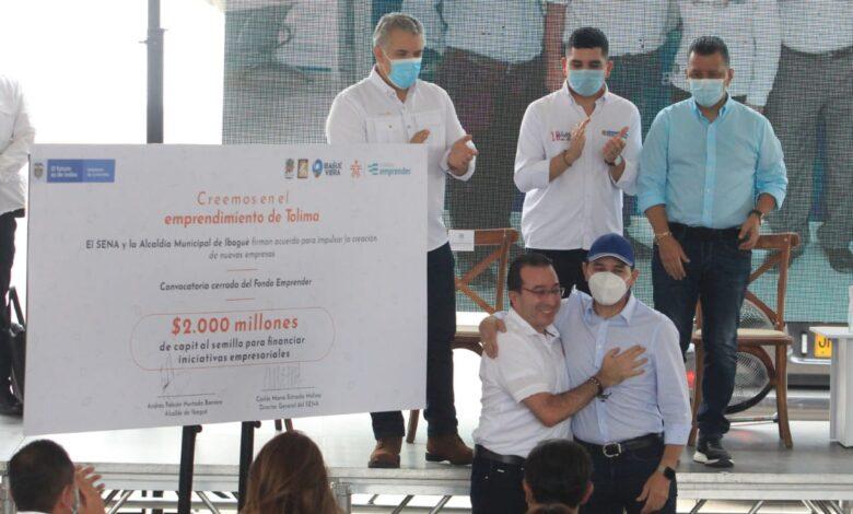 Alcaldía de Ibagué y SENA lanzaron convocatoria para impulsar 25 emprendimientos 1