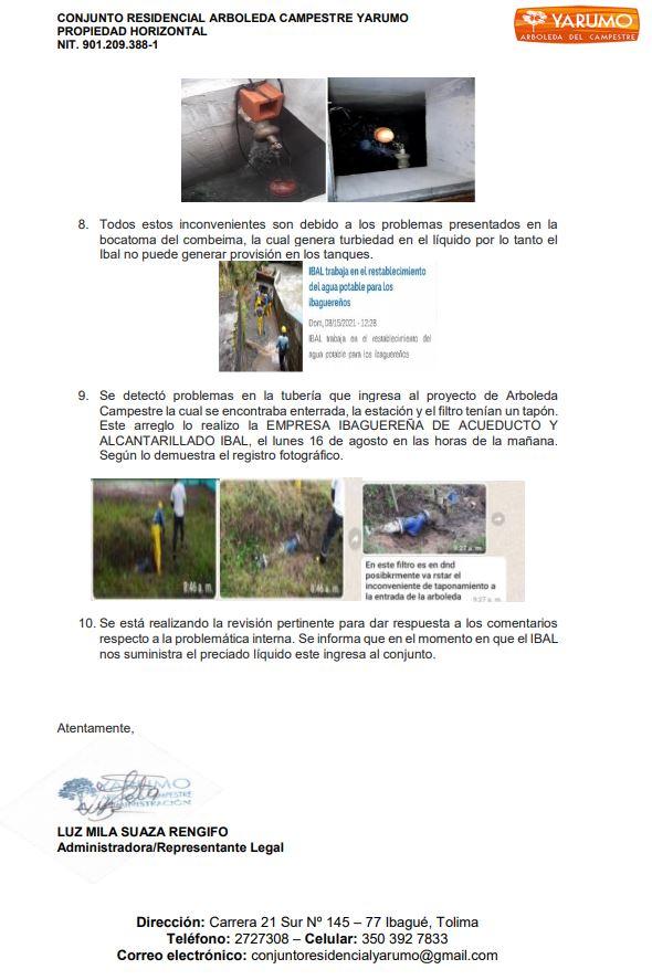Por falta de agua ibaguereños convocan a cierre de Variante Ibagué-Bogota 3