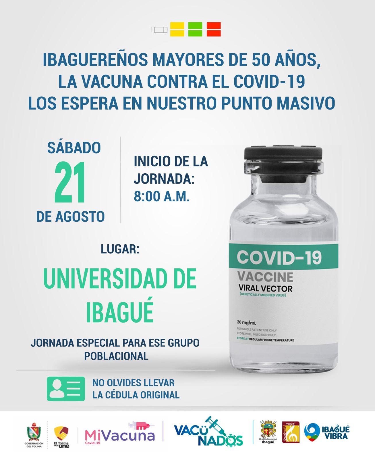 Este sábado habrán vacunas en el sur de Ibagué 4