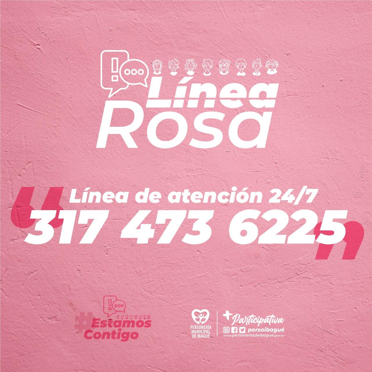 Si es víctima de violencia pida ayuda a la Línea Rosa en Ibagué 4