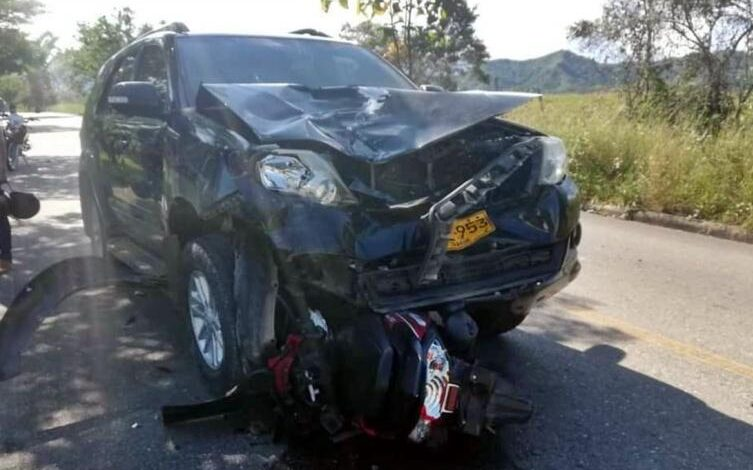 Hijo del Alcalde de Chaparral habría sido quien ocasionó accidente de tránsito al sur del Tolima 1
