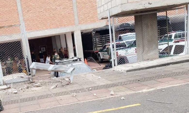 Atentado terrorista en Estación de Policía en Cúcuta 1