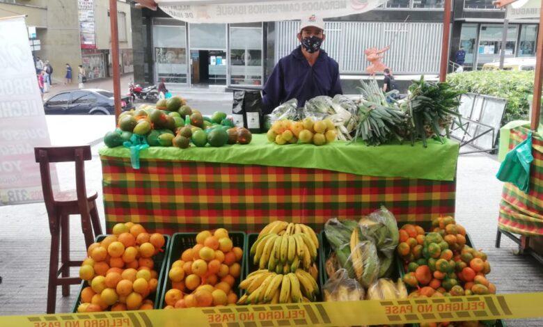 Este fin de semana, Ibagué tendrá doble jornada de Mercados Campesinos 1