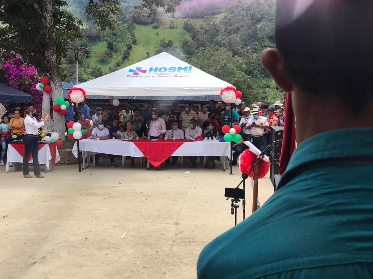 Alcaldesa de Rioblanco habría invitado a candidata a conmemoración de los 90 años de Herrera 2