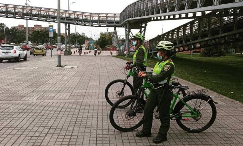 674 nuevos policías ayudaran en las ciclorrutas de Bogotá 1