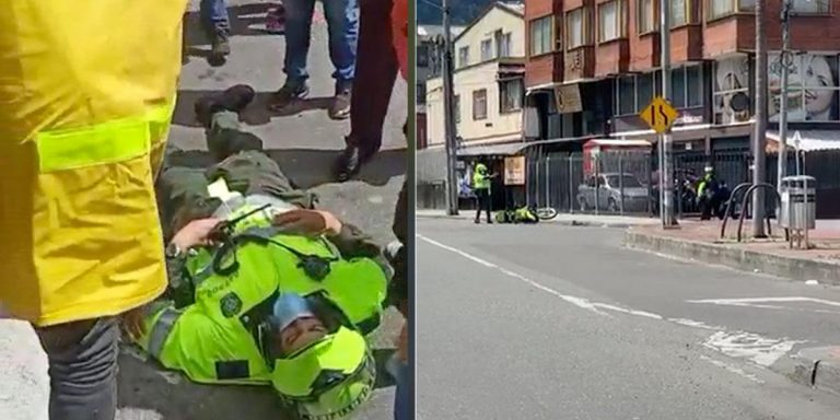 Policía asesinado en Bogotá era del Espinal 3