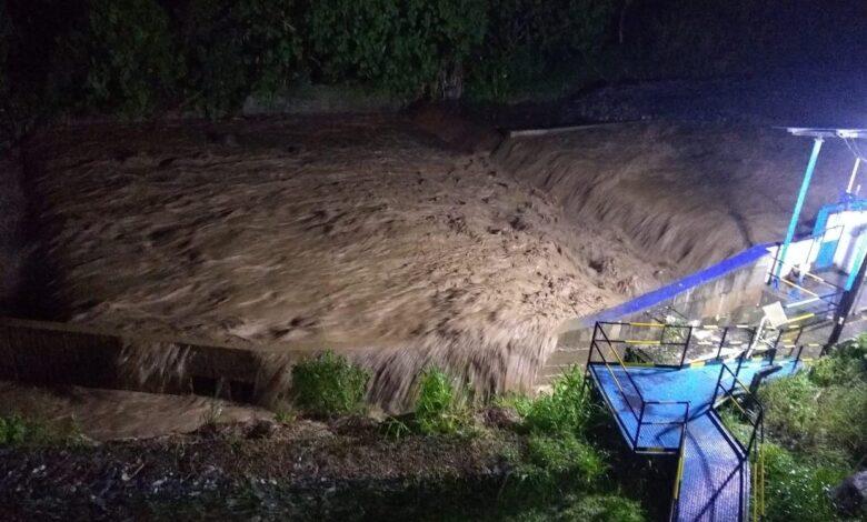 IBAL continúa en alerta por lluvias que afectan el sistema de acueducto 1