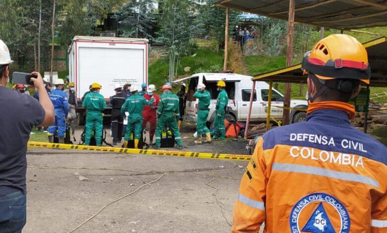 Al menos doce muertos en Mina en Topaga Boyacá 1
