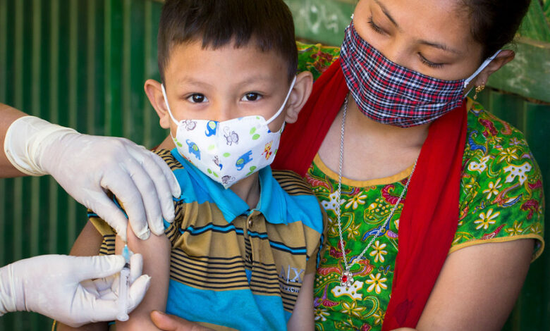 En Colombia no se están cumpliendo las metas de vacunación de la primera infancia 1