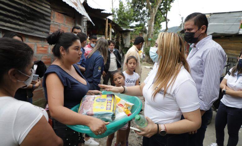 A pesar de la calamidad los ibaguereños se solidarizan 1