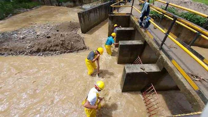 Sin agua se mantiene gran parte de Ibagué 1