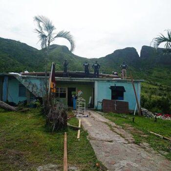 15 bomberos del Tolima apoyaron la reconstruccion de San Andrés y Providencia 7