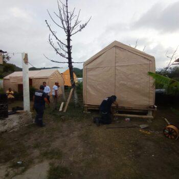 15 bomberos del Tolima apoyaron la reconstruccion de San Andrés y Providencia 2