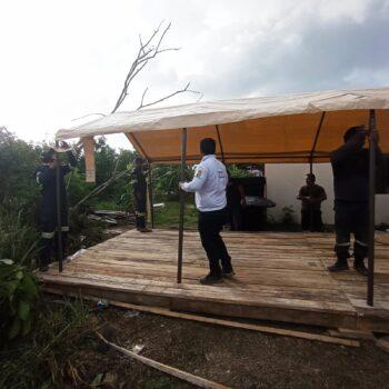 15 bomberos del Tolima apoyaron la reconstruccion de San Andrés y Providencia 3