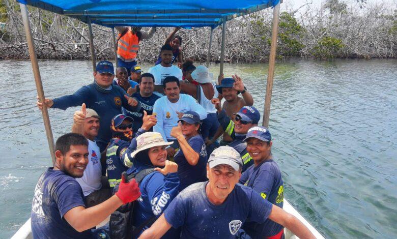15 bomberos del Tolima apoyaron la reconstruccion de San Andrés y Providencia 1