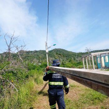 15 bomberos del Tolima apoyaron la reconstruccion de San Andrés y Providencia 4