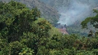 Incendio forestal causó emergencia en Suárez 8