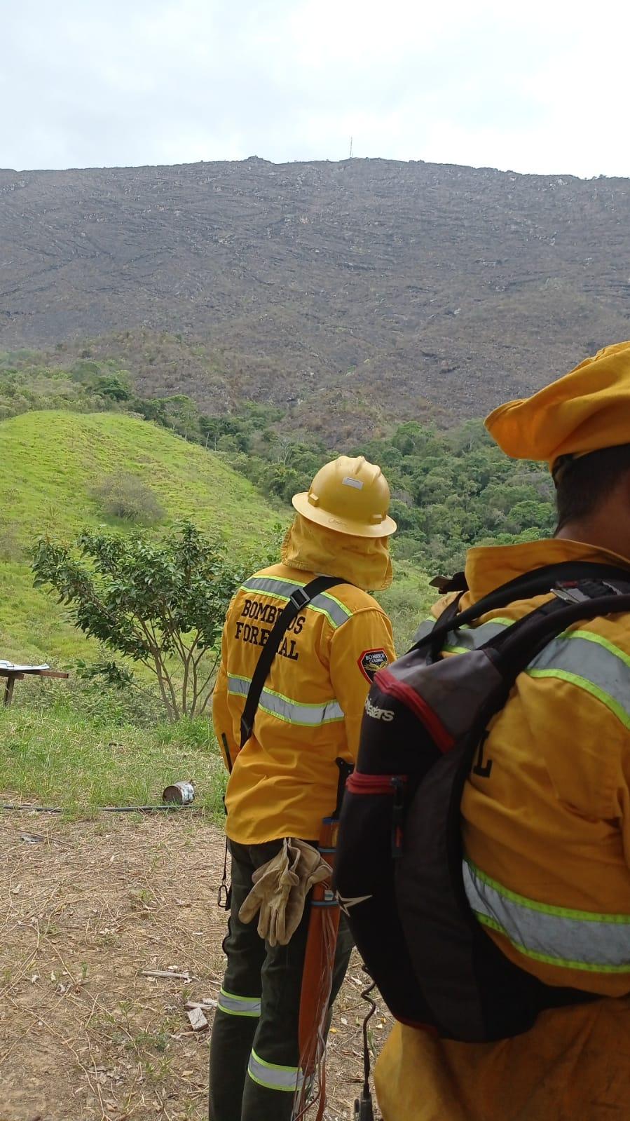 Se suman más municipios a la extinción del incendio en Melgar 7