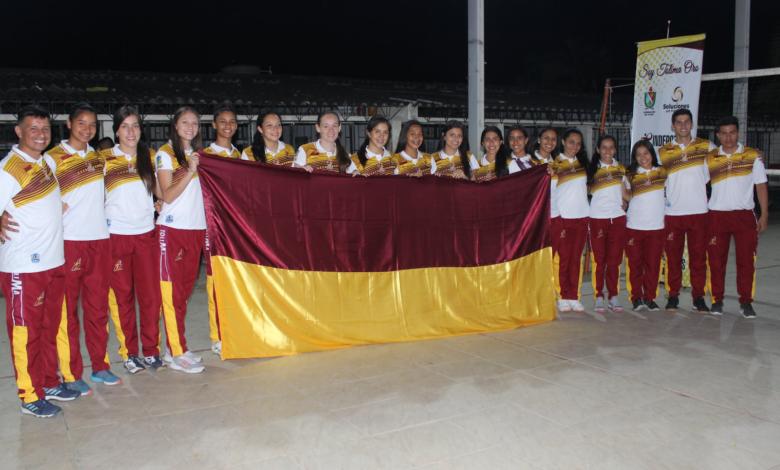 Voleibol femenino del Tolima arranca competencia en Nacional sub 21 1