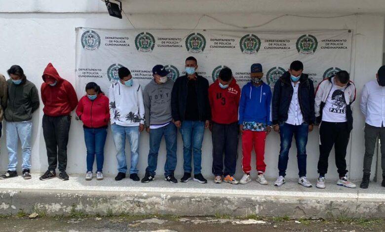 Capturaron las 12 personas que atacaron la Alcaldía, la Policía y un Peaje en Zipaquirá 1